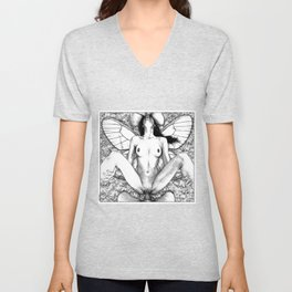 asc 721 - La collectionneuse (Pinned through and through) Unisex V-Neck