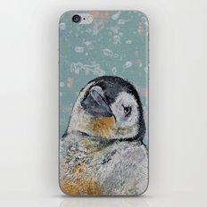 Baby Penguin Snowflakes iPhone & iPod Skin