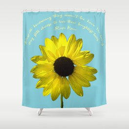 Brightest Lives Shower Curtain