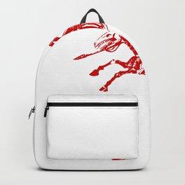 Skeleton Horse Rider Backpack