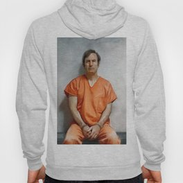 Jimmy McGill aka Saul Goodman In Prison Orange And Chains - Better Call Saul Hoody