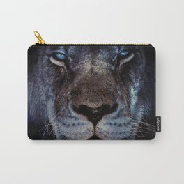 Blue-Gold Lion Carry-All Pouch