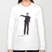 les mis Long Sleeve T-shirts featuring Mis-Shapes by Popp Art