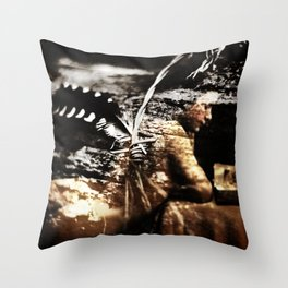 Dreams of Wings Throw Pillow