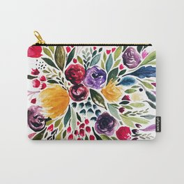 Florals I Carry-All Pouch