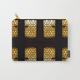 GoldenGlow Carry-All Pouch