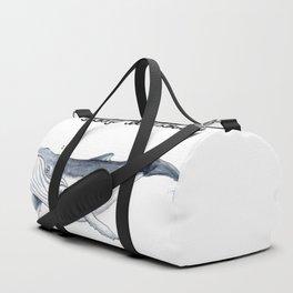 Sleep whale Duffle Bag