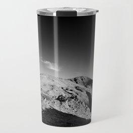 Monochrome mountain Travel Mug