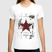 moscow T-shirts featuring Moscow Mockba by Virbia