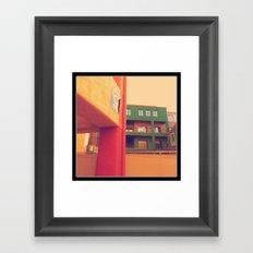 La Placita 9 Framed Art Print