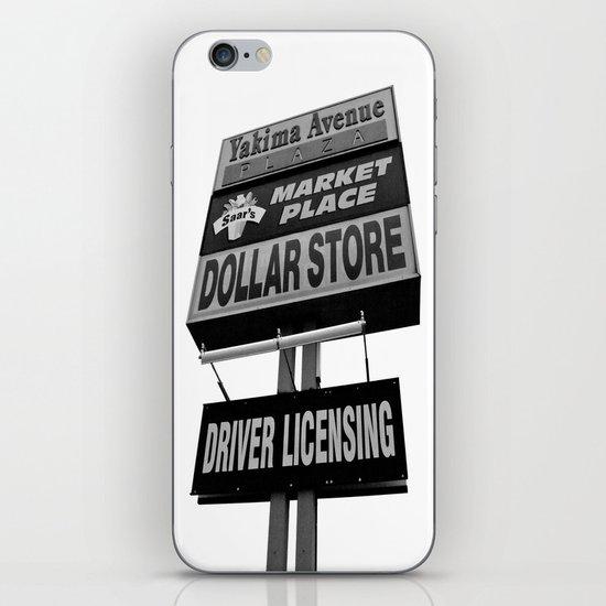 Yakima Ave. Plaza iPhone & iPod Skin