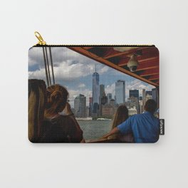 Freedom Tower & Tourists Carry-All Pouch