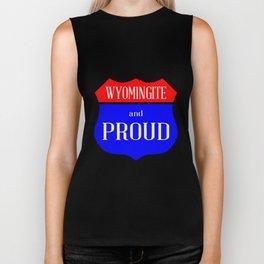 Wyomingite And Proud Biker Tank
