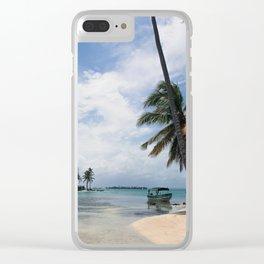 Between Islands Clear iPhone Case