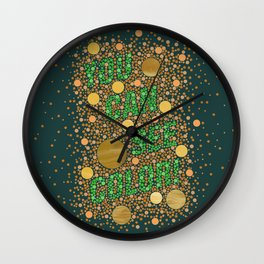 Colorblind! Wall Clock