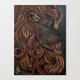JujuLion Canvas Print