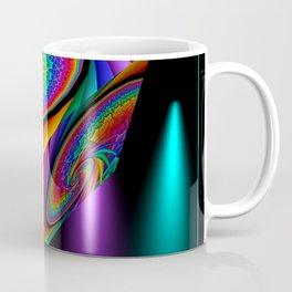 framed fractal cubes -2- Coffee Mug