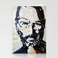 steve jobs Stationery Cards featuring Steve Jobs by Phil Fung