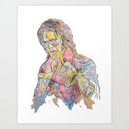 The Elvis Impersonator Art Print