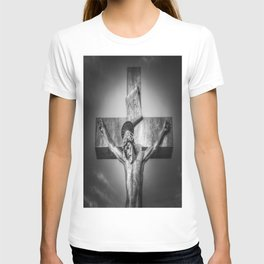 Jesus Statue T-shirt