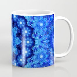 Lapis Crown Mandala Coffee Mug
