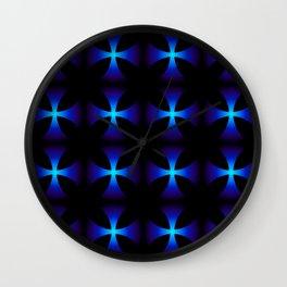 Glowing stars Wall Clock