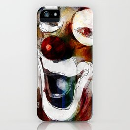 Circus Clown iPhone Case
