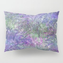 Color Leaf Explosion Abstract Pillow Sham