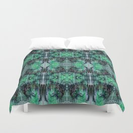 Growing and Blossoming Duvet Cover