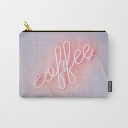 Neon Coffee Carry-All Pouch