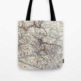 Vintage Map of Arizona (1911)  Tote Bag