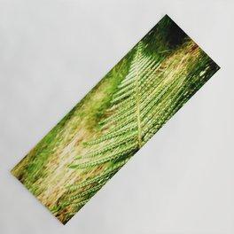 Green Fern Yoga Mat