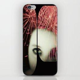 Fireworks Girl iPhone Skin