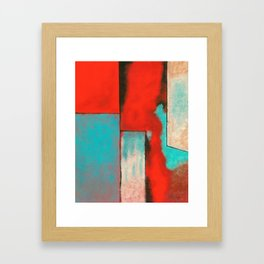 The Corners of My Mind, Abstract Painting Framed Art Print