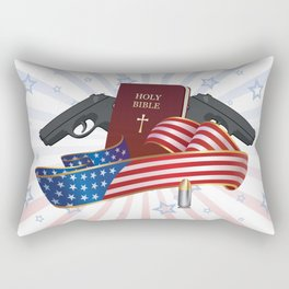 Independence Day Rectangular Pillow
