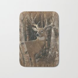 Deer - Birchwood Buck Bath Mat