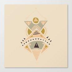 Pyramids 3 Canvas Print