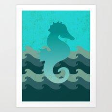Seahorse Dream Art Print