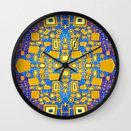 Carnival At Twilight Wall Clock