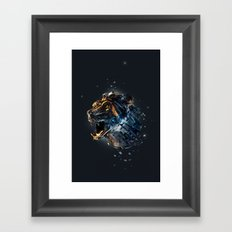 Manimals - Ursa Framed Art Print