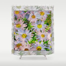 DAISEY MADNESS ABSTRACT  Shower Curtain
