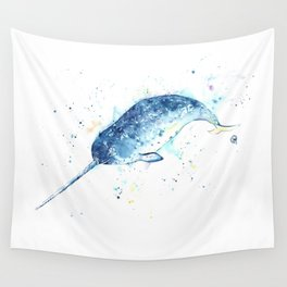 Narwhal - Unicorn of the Sea Wall Tapestry