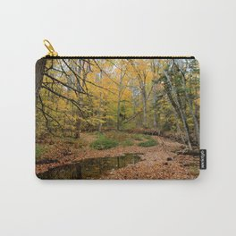 Autumn Leaf Blanket Carry-All Pouch