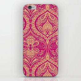 Simple Ogee Pink iPhone Skin
