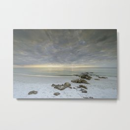 Naples Seascape 2/12 Metal Print