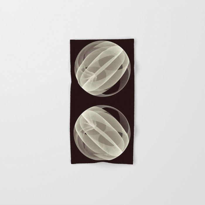 Modern Magic 3D Sphere Hand & Bath Towel