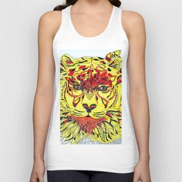 Tigereye Unisex Tank Top