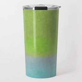 Green greenery greenish Travel Mug