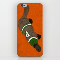 platypus iPhone & iPod Skins featuring Platypus by subpatch