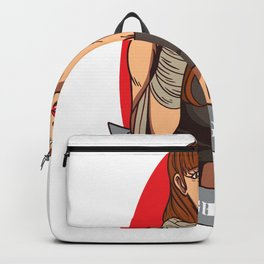Strong Women Women's Rights Equality Emancipation Design Backpack